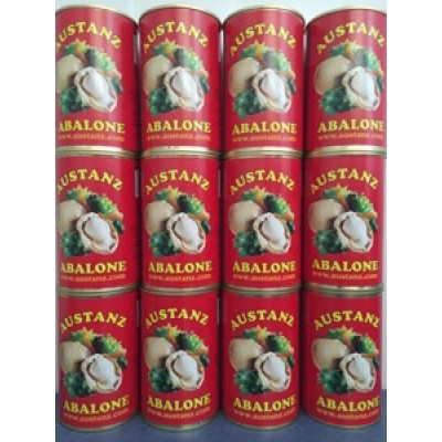 12 cans '8 Abalone per Can'